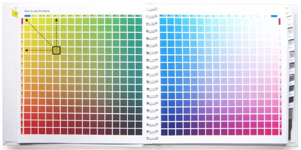 标准四色配色手册 — 四色叠印金银配色手册
