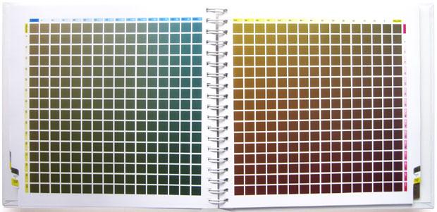 标准四色配色手册 — 四色叠印金银配色手册2