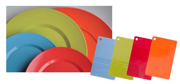 PANTONE塑胶标准色样图